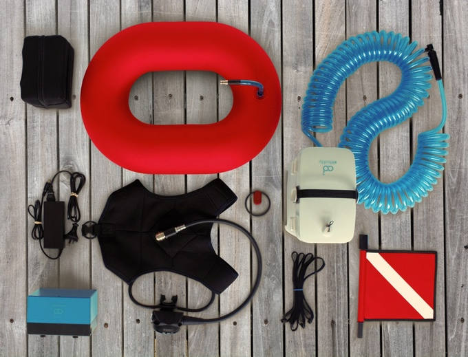 AirBuddy - tankless diving   Indiegogo