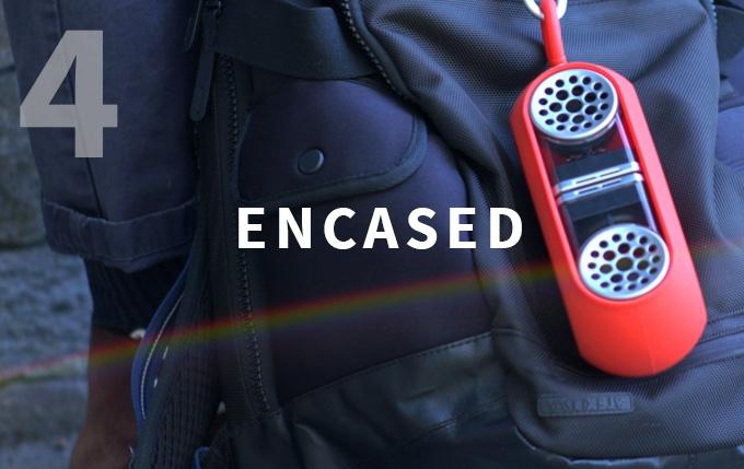 Encased = Ideal Outdoor Audio Solution