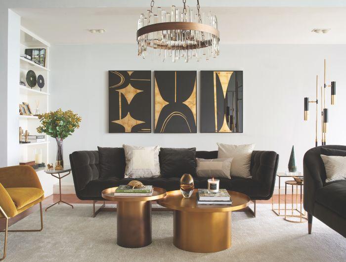 Living Room Zain Chandelier