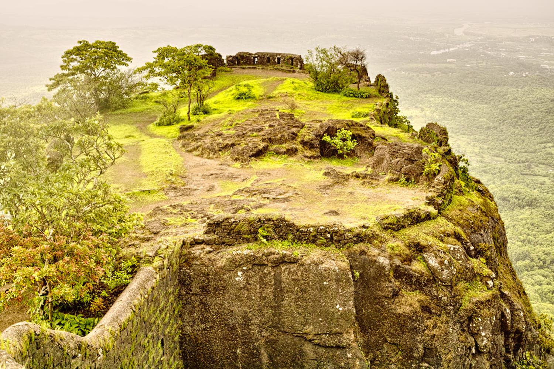 Karnala fort bastions