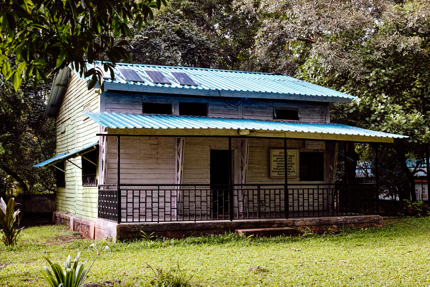 The guesthouse at Karnala sanctuary