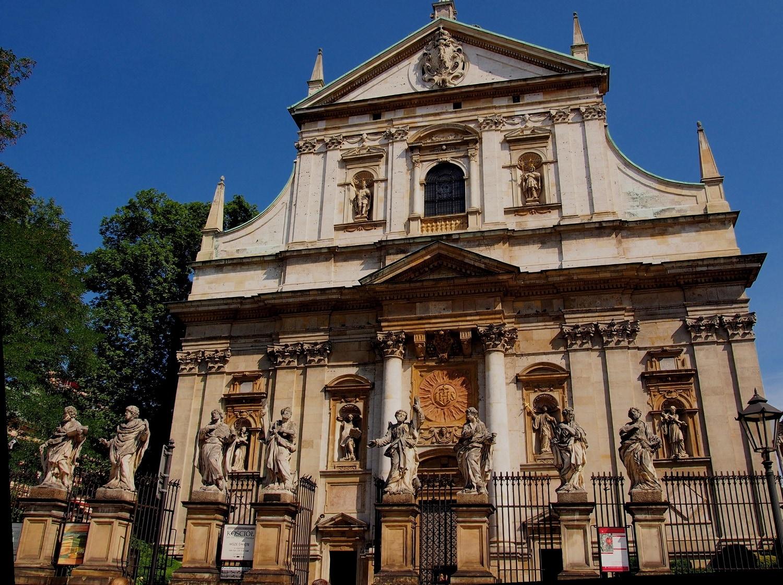 Giovanni Maria Bernardoni's Church of St. Peter and Paul (1605-19) | Source: absolutetours.com