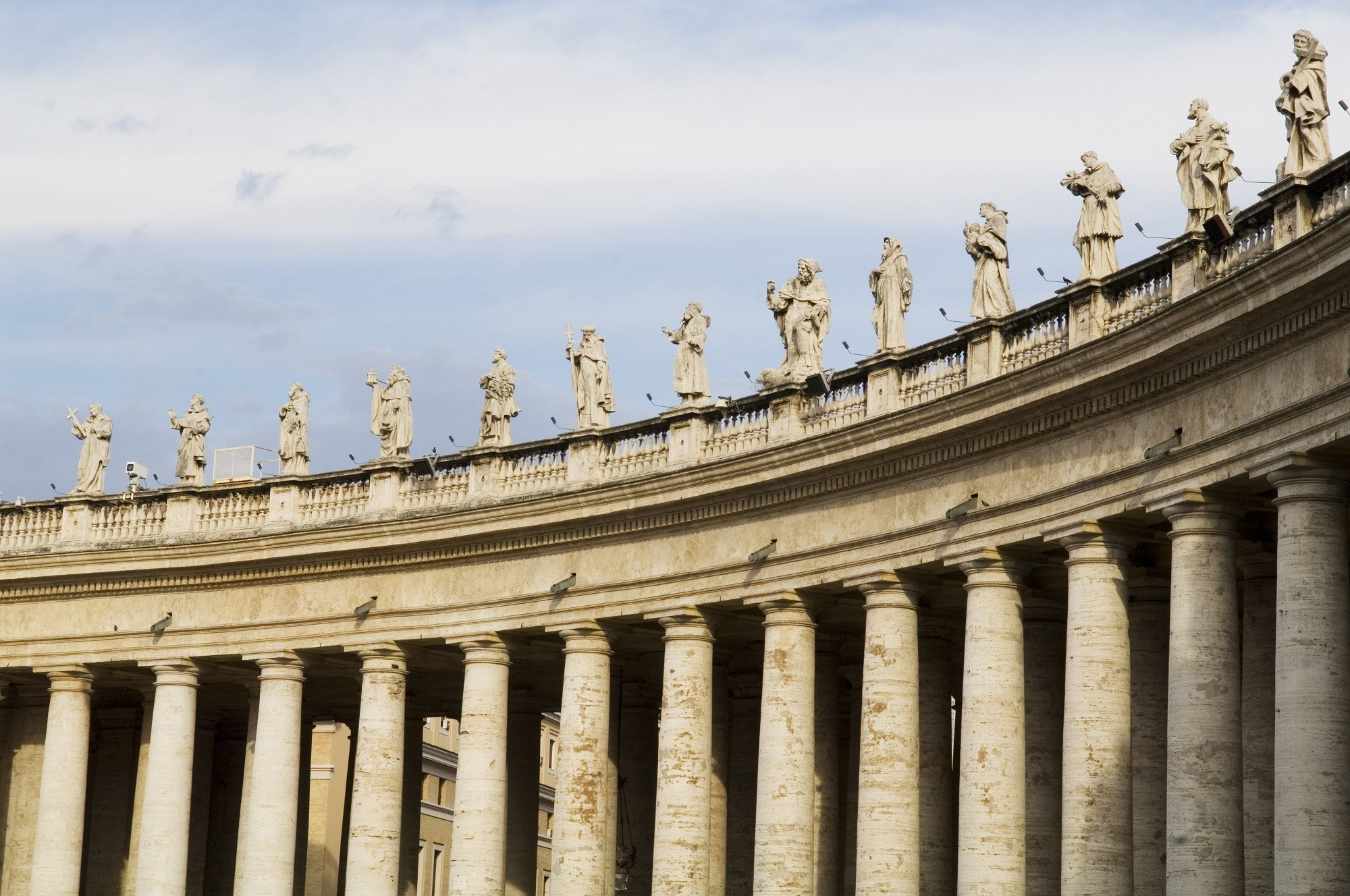 St. Peter's Square colonnades by Bernini | Source: lonelyplanet.com