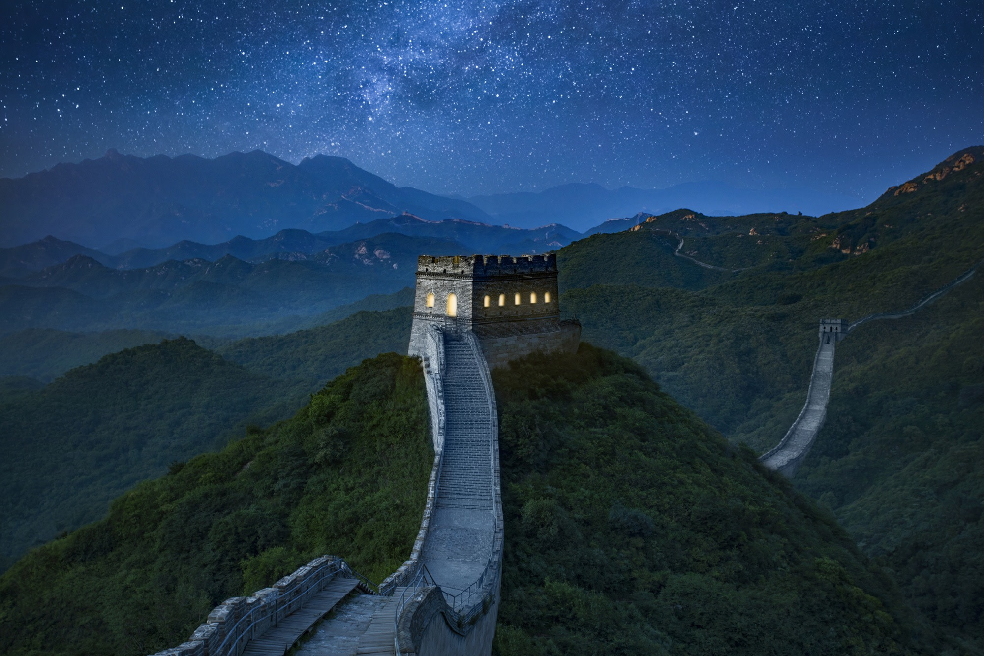 The Great Wall of China   Source: archdaily.com
