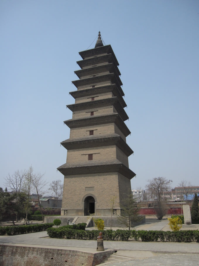 The Xumi Pagoda of The Tang Dynasty   Source: brewminate.com
