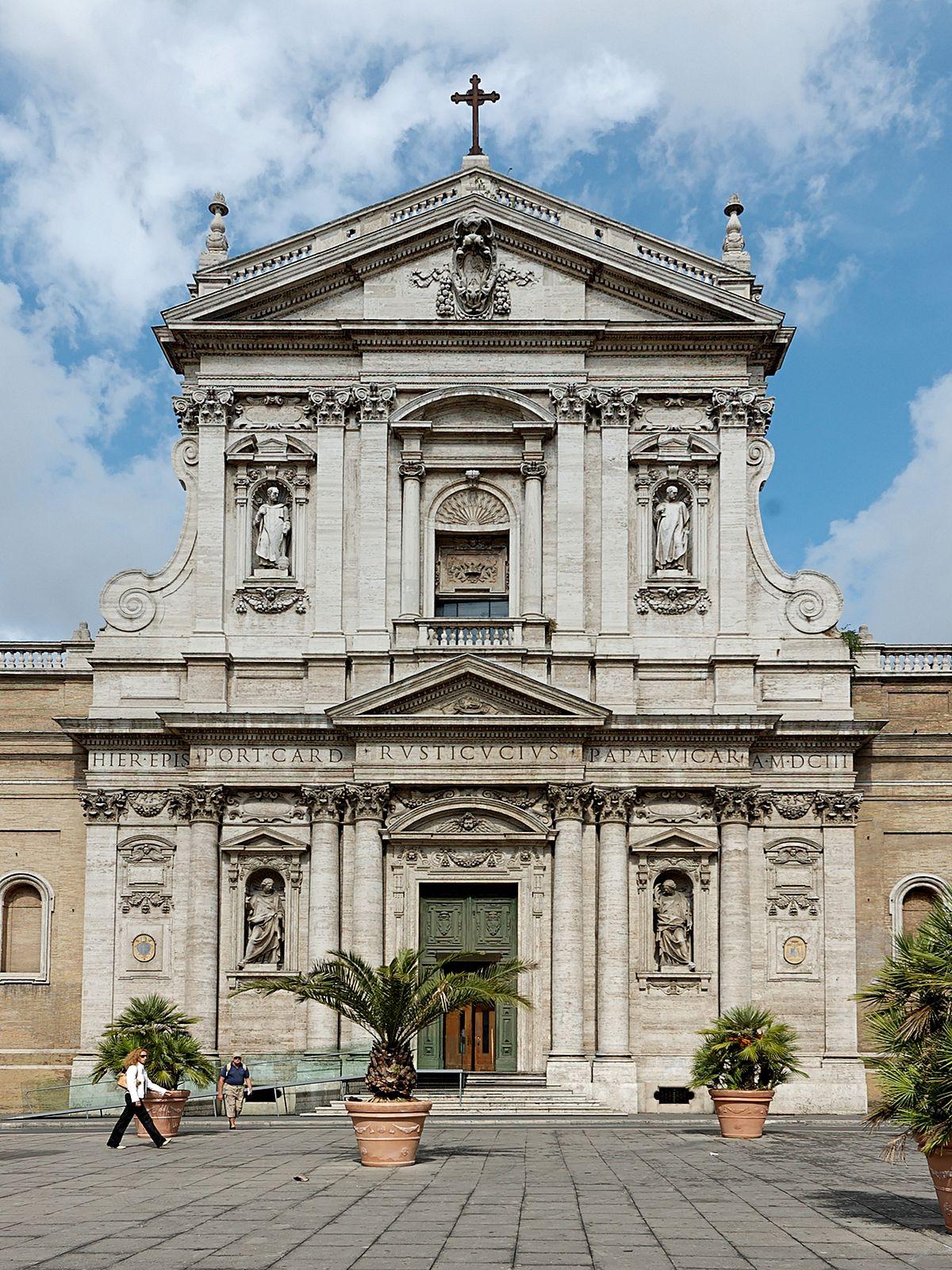 Santa Susanna façade (1603) | Source: wikimedia.org