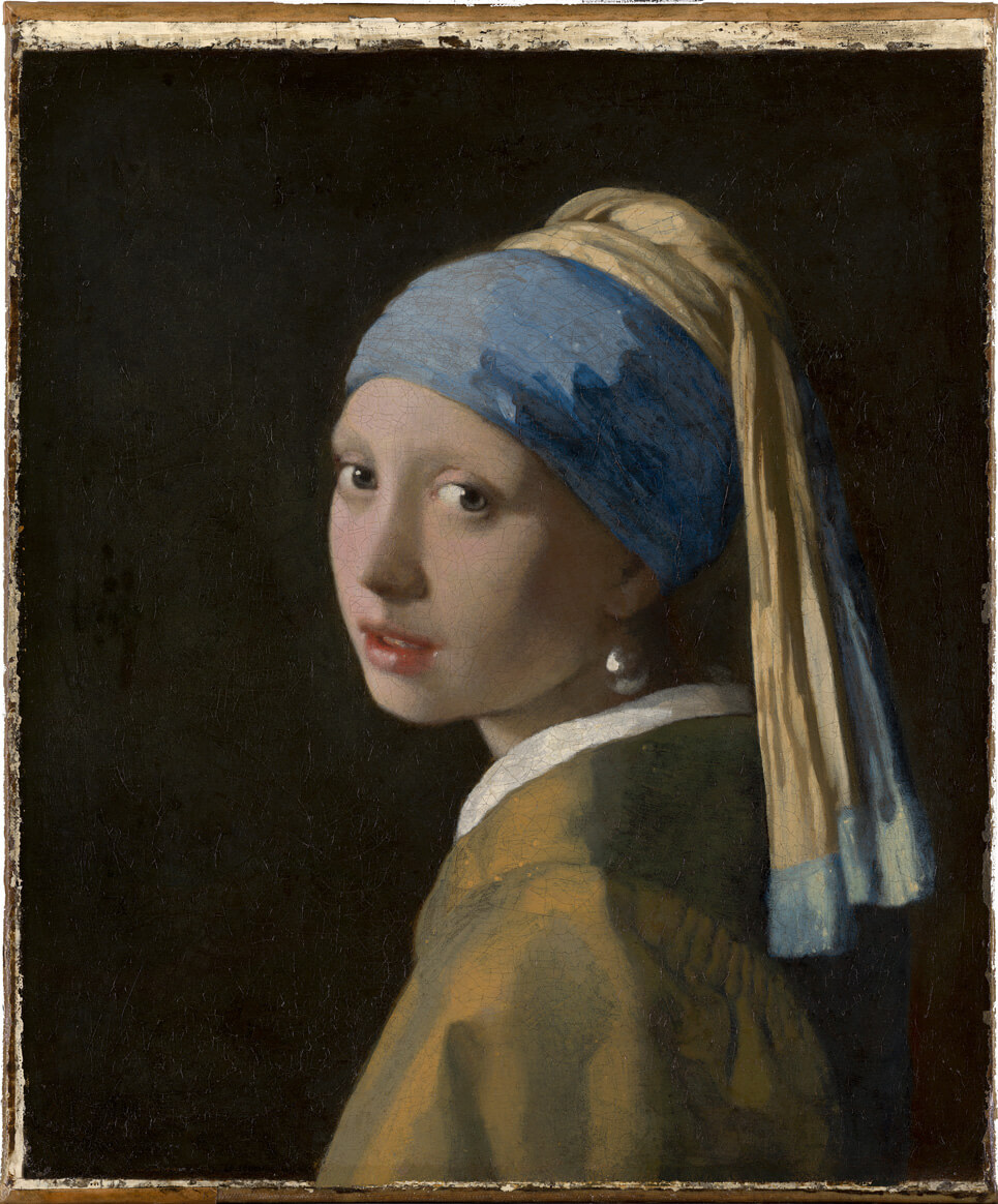 Vermeer's Girl with a Pearl Earring (c. 1665) | Source: mauritshuis.nl