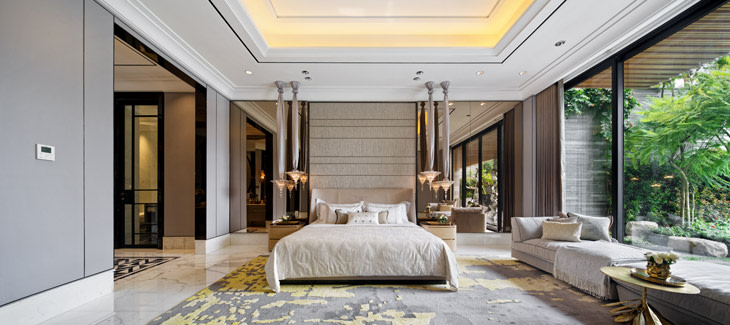 Stepping Into A Contemporary Glamorous House In Surabaya
