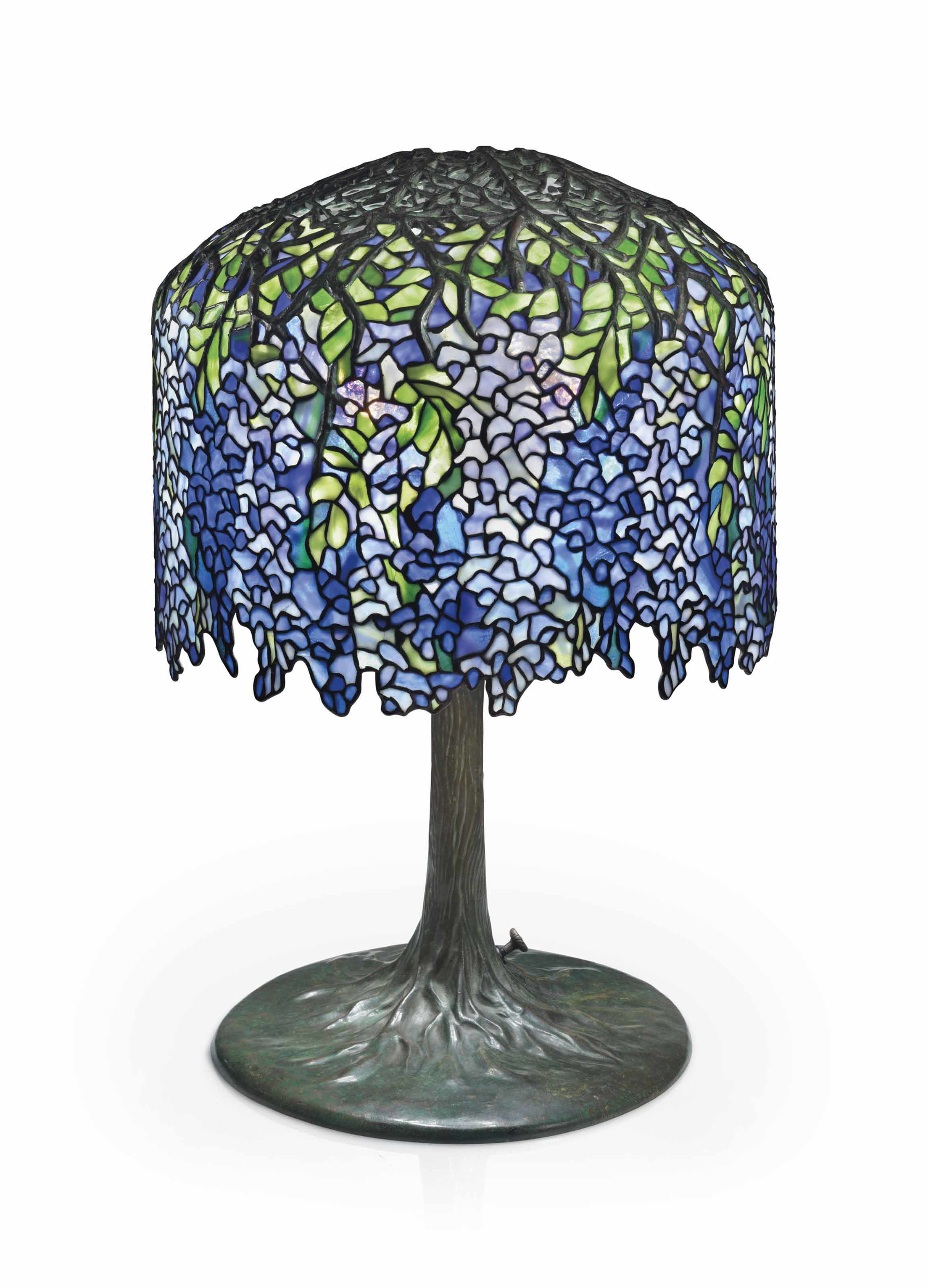 Louis Comfort Tiffany's Wisteria lamp (circa 1905) | Source: christies.com