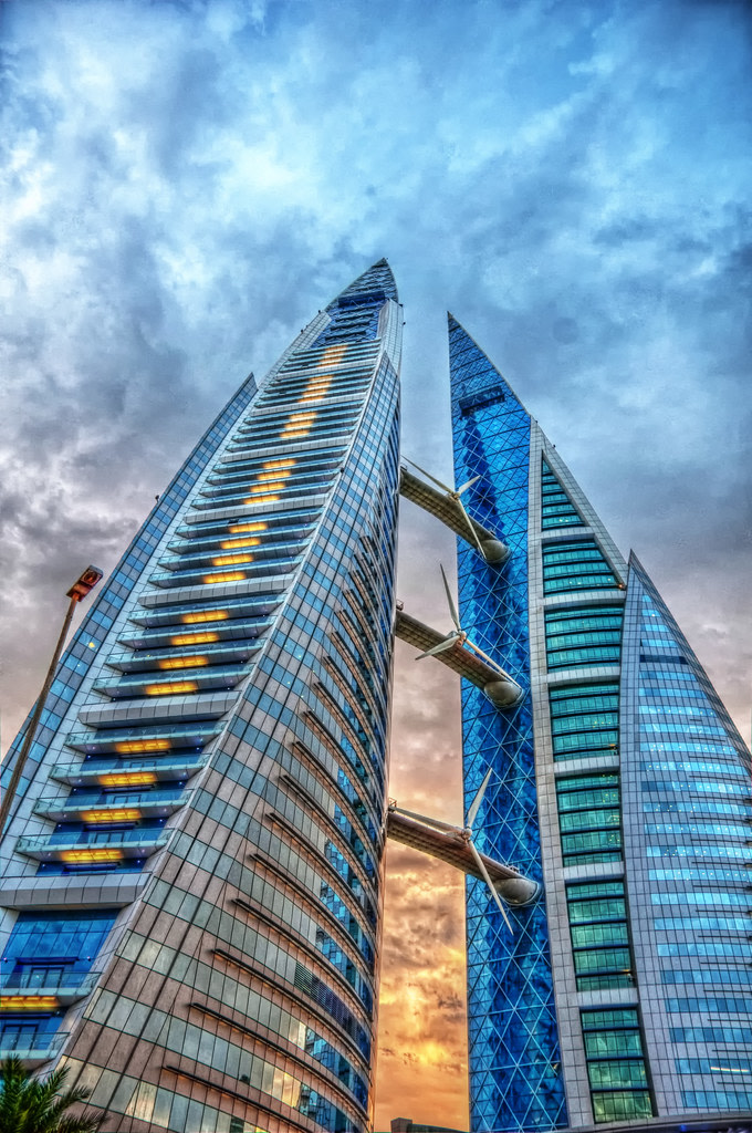 Bahrain World Trade Center | Source: flickr.com