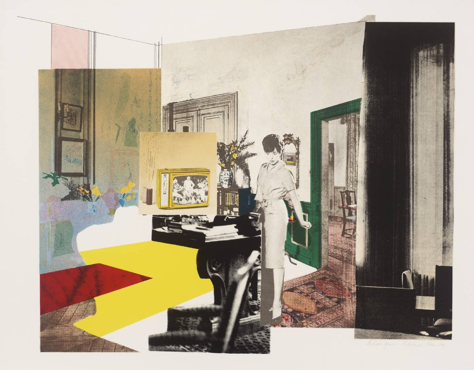 """Interior"" by Richard Hamilton (1964-5) 