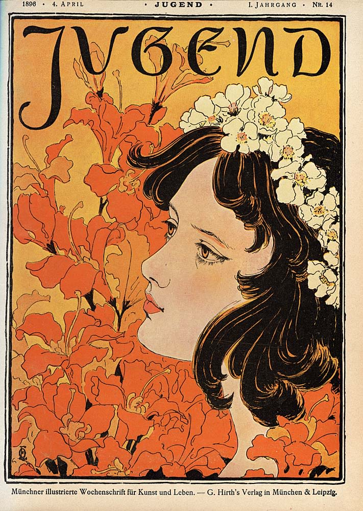 Cover of Jugend by Otto Eckmann (1896) | Source: wikimedia.org