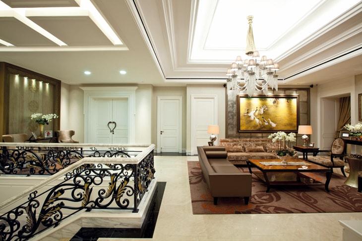 A Palatial House