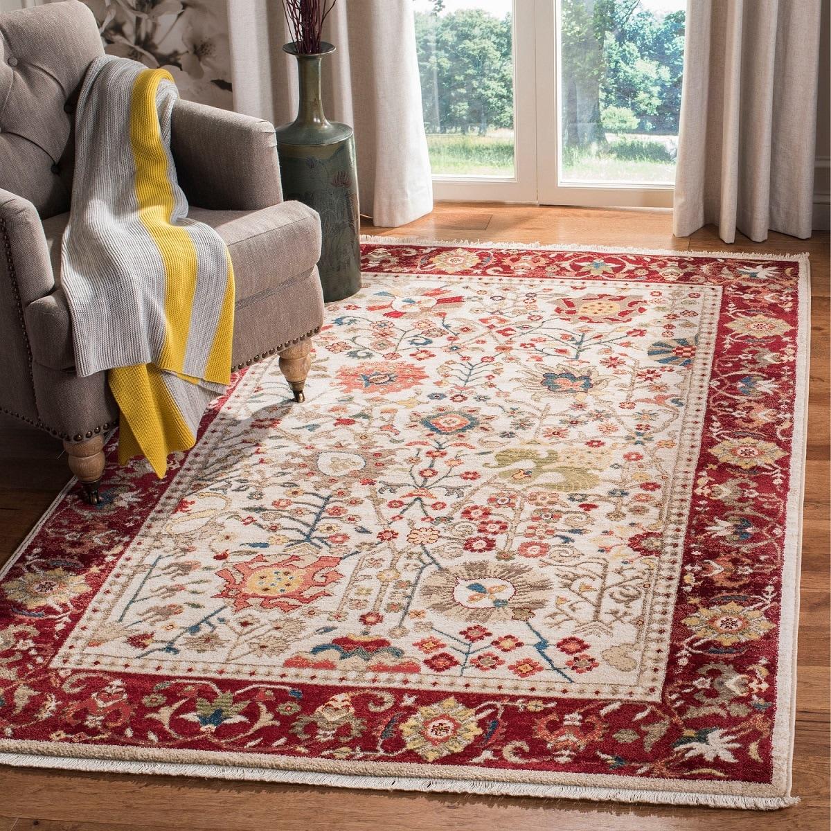 Oriental rug for living room | Source: overstock.com