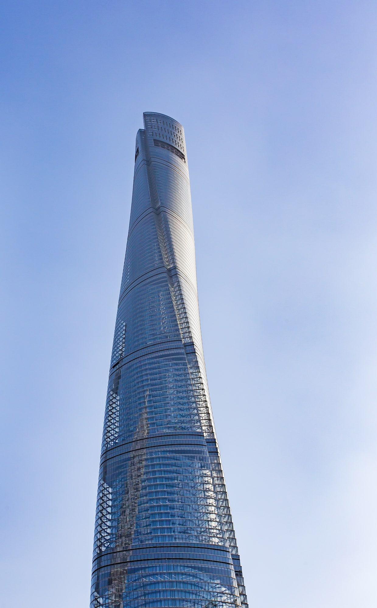 Shanghai Tower | Source: architecturaldigest.com