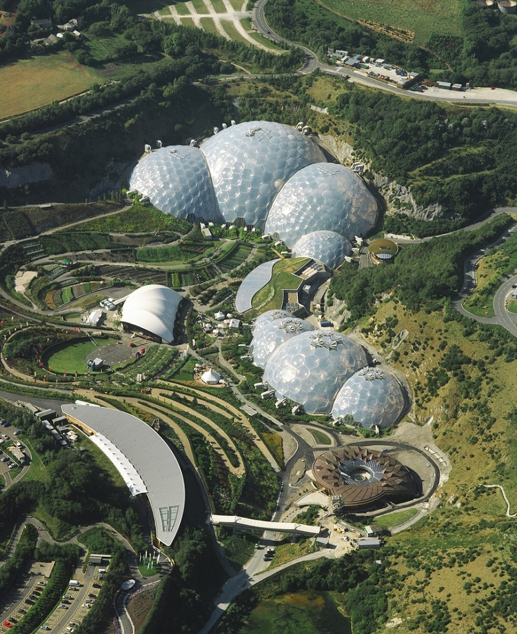 Eden Project Cornwall | Source: archdaily.com