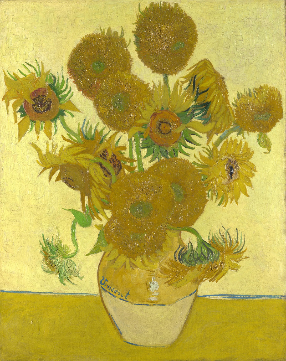 Van Gogh's Sunflowers, 4th version | Source: wikipedia.org