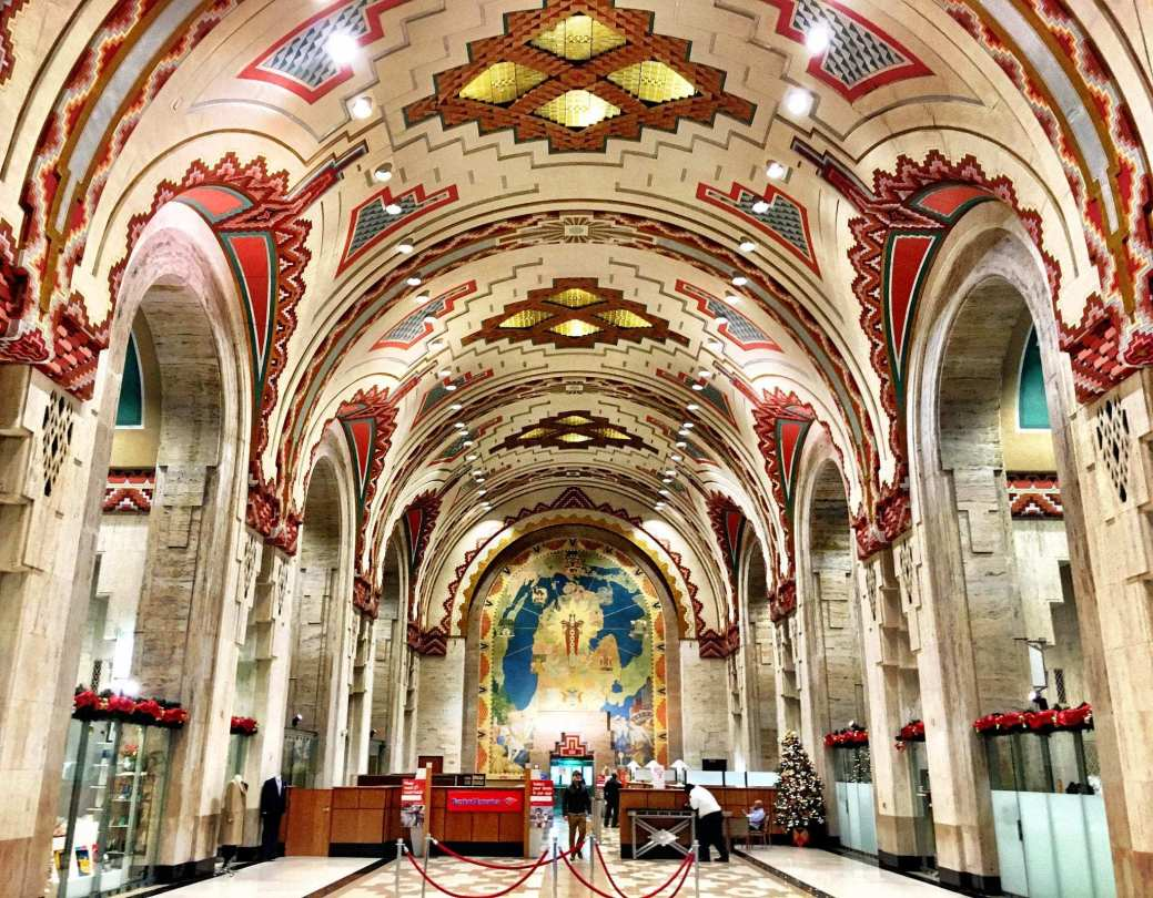The Guardian Building interior   Image source: landlopers.com