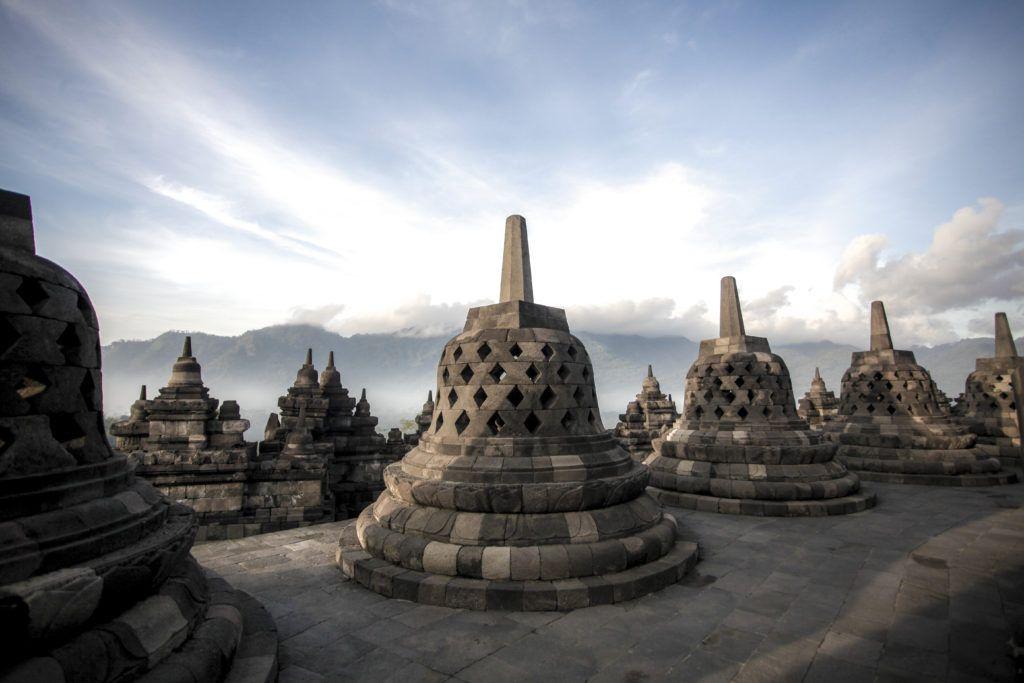 Borobudur stupas | Source: relationalbuddhism.org