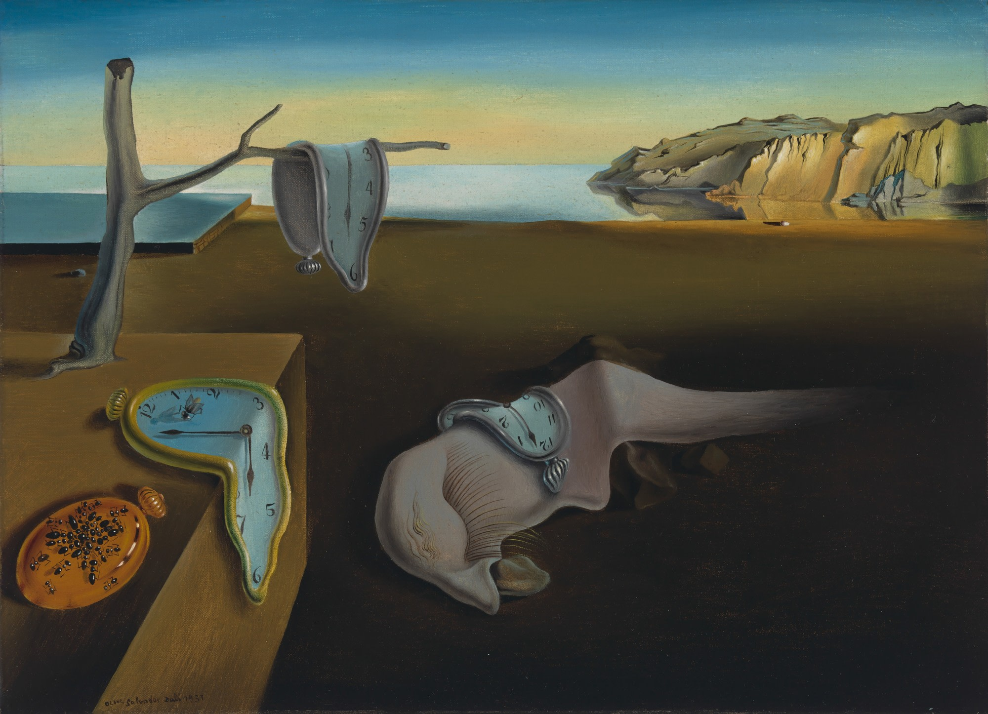 Dalí's The Persistence of Memory (1931) | Source: moma.org