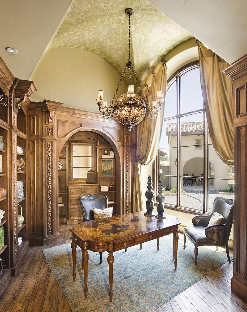 Mediterranean home office | Source: decoist.com
