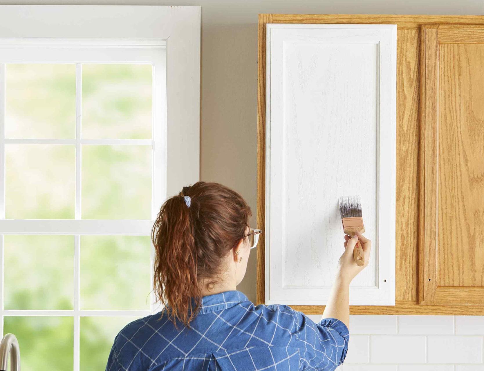 Paint your cabinet doors | Source: bhg.com