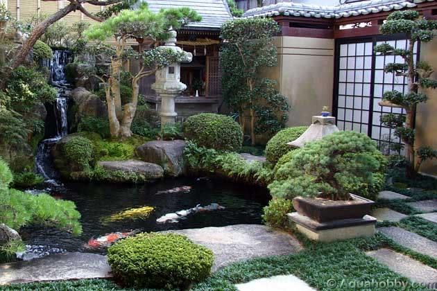 Japanese garden | source: onekindesign.com