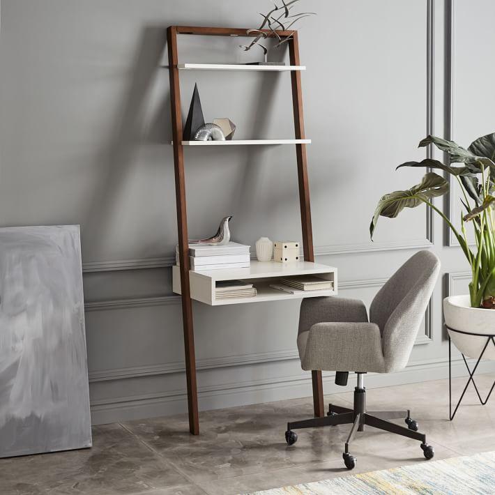 Ladder Shelf Desk | Source: westelm.com
