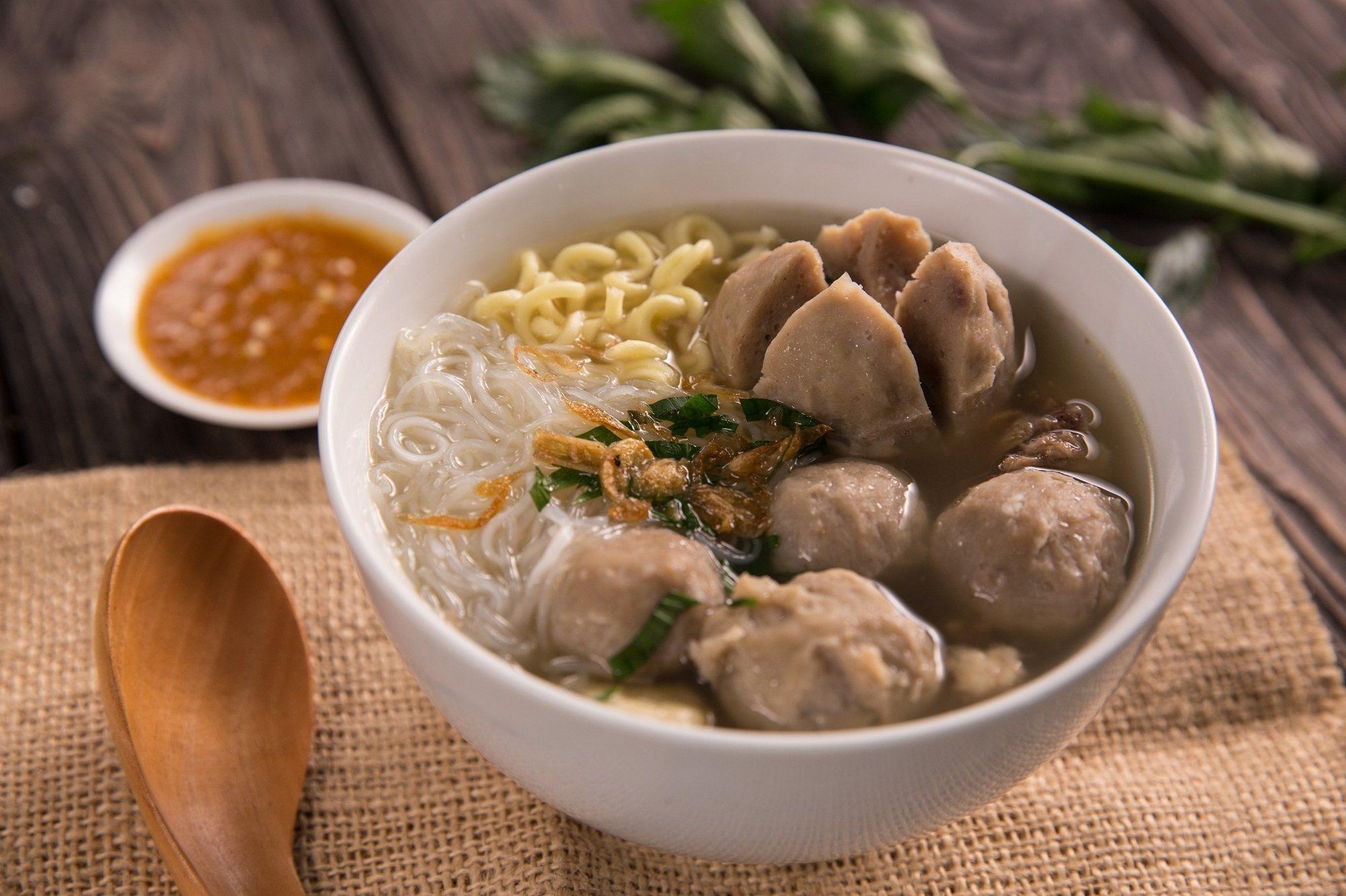 A bowl of bakso | Source: masakapahariini.com