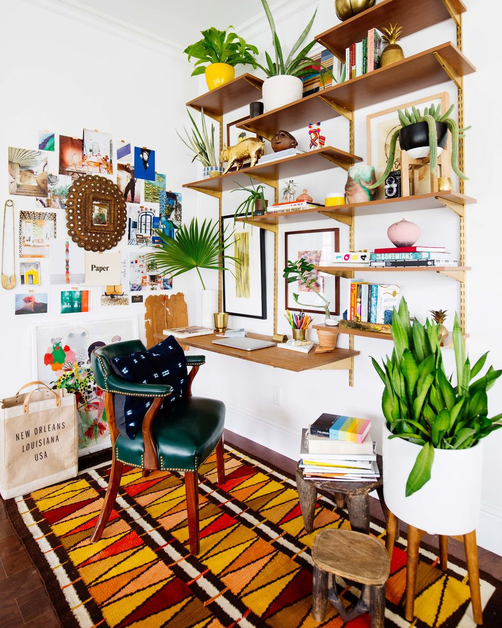 Bohemian home office | Source: thespruce.com