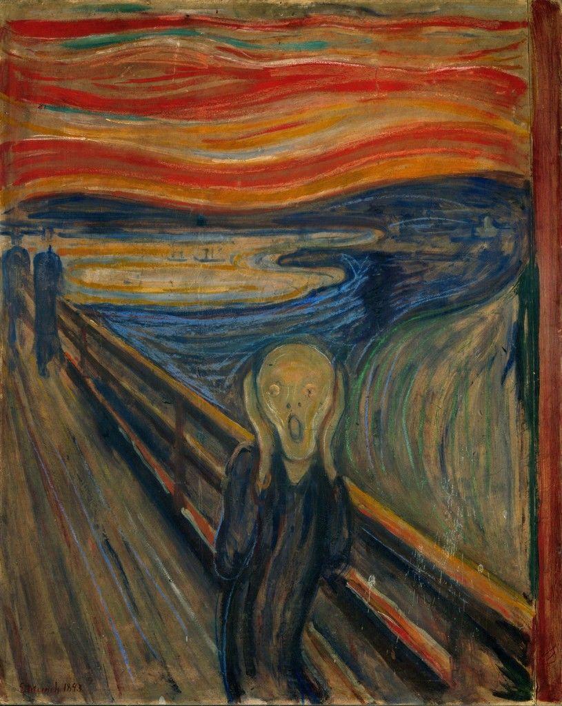 Munch's The Scream (1893) | Source: artsy.net