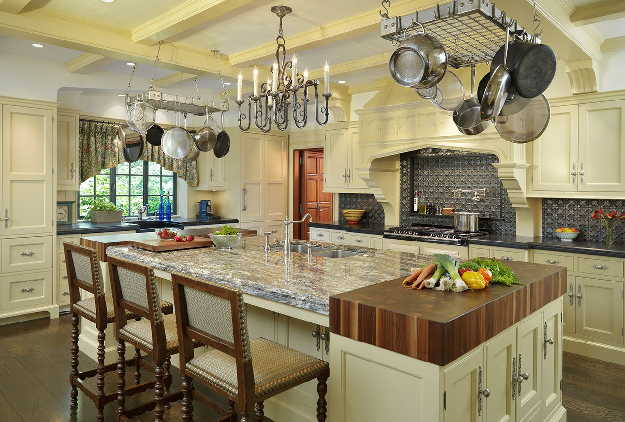 Tudor revival kitchen | Source: merrimackdesign.com