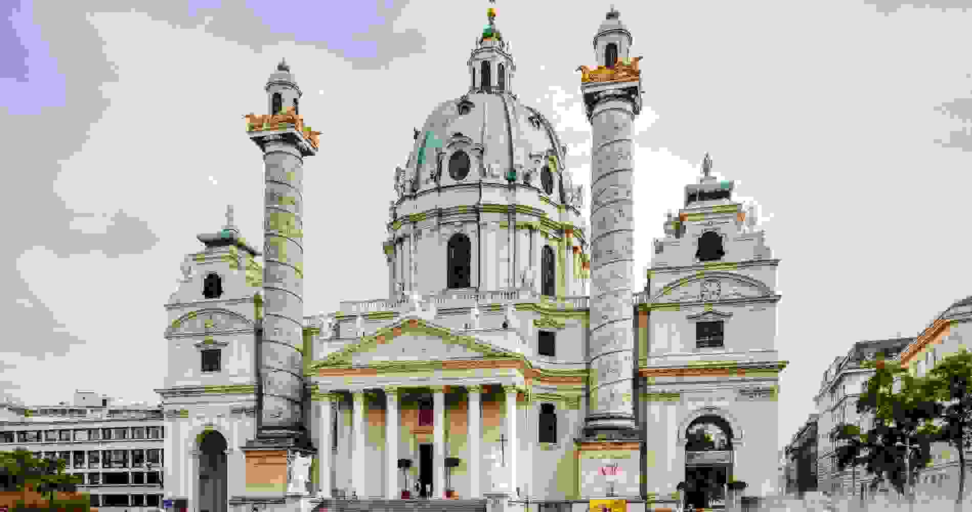The Karlskirche (consecrated 1737) | Source: wien.info