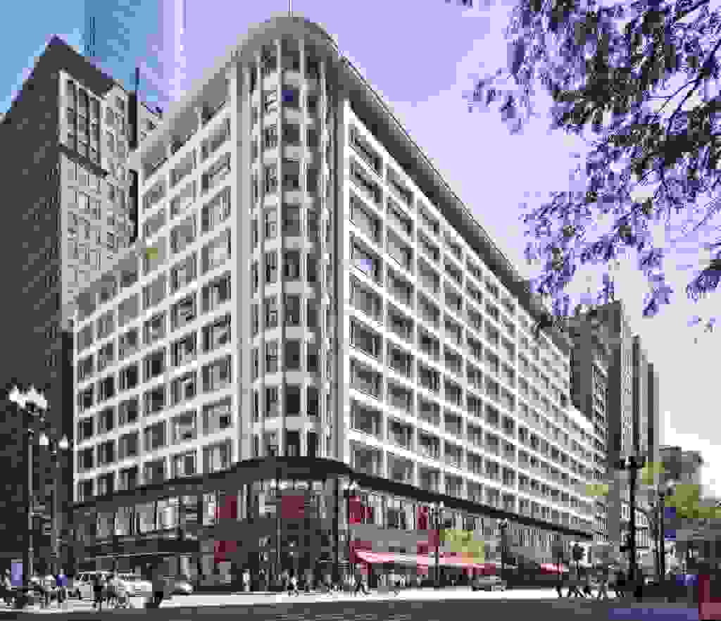 Sullivan Center (then Carson, Pirie, Scott and Company Building) by Louis Sullivan (1904-1906) | Source: urbanland.uli.org