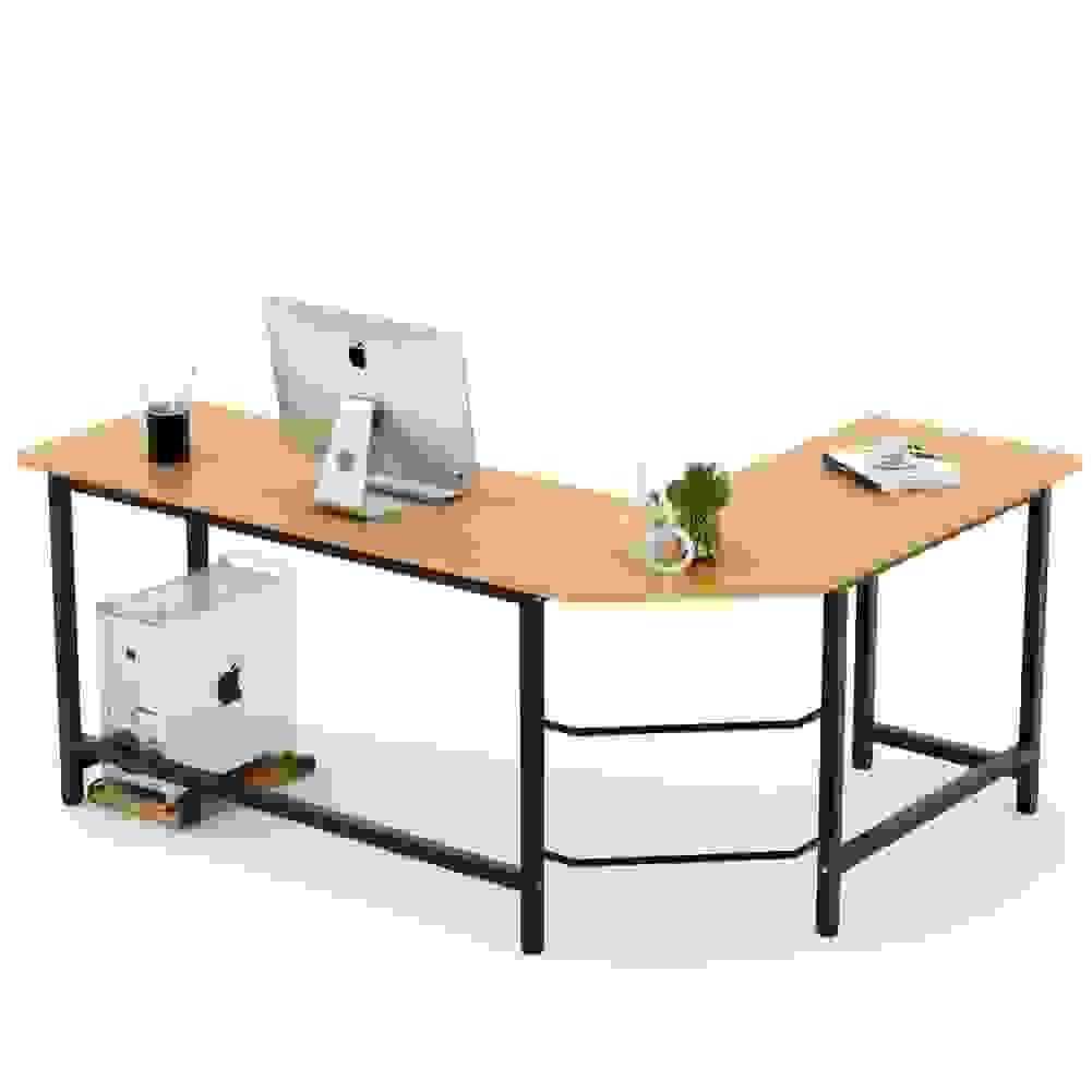 Tribesigns Modern L-shaped Corner Computer Desk | Source: desertcart.com