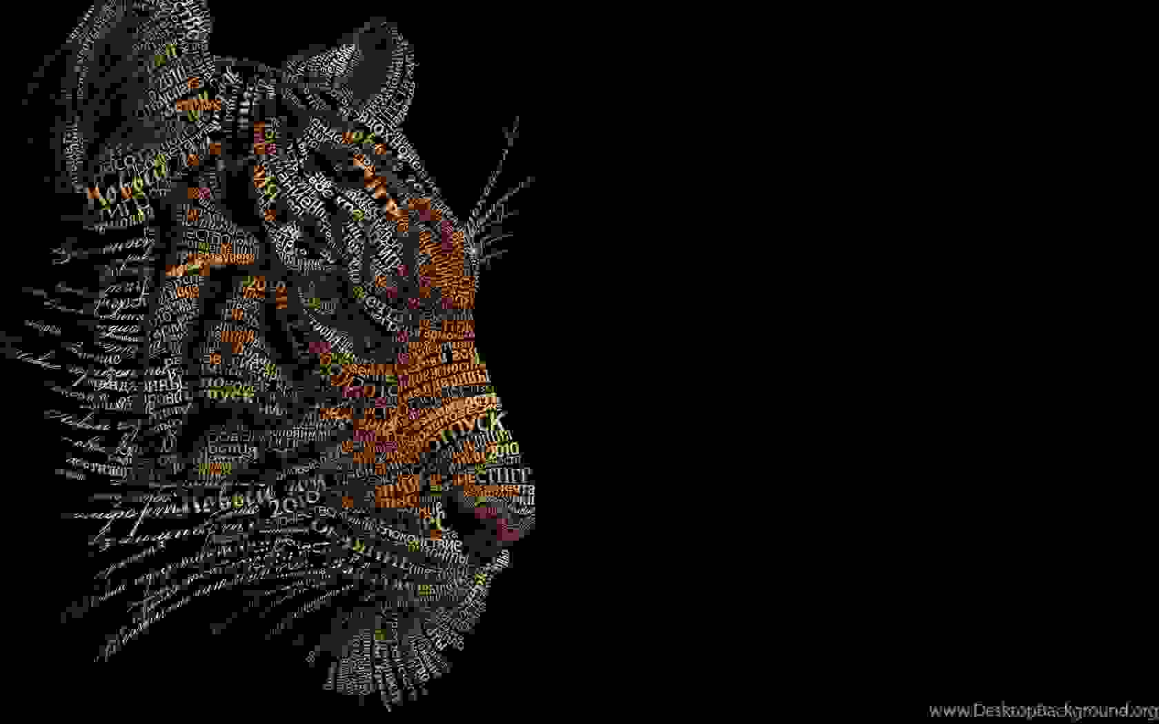 Typography Digital Art | Source: desktopbackground.org