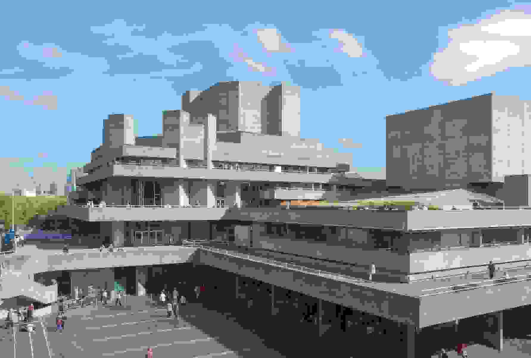 Royal National Theatre by Denys Lasdun | Source: crlrestoration.eu.com