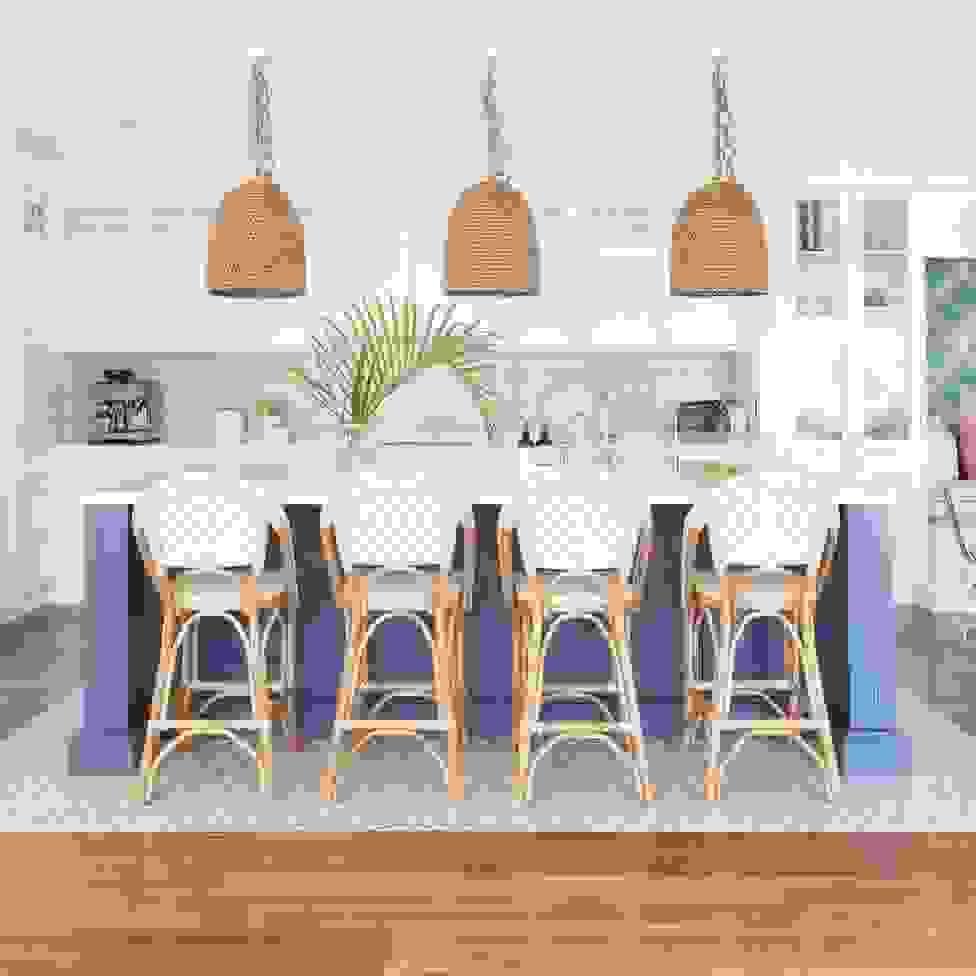 Coastal kitchen | Source: curatedinterior.com