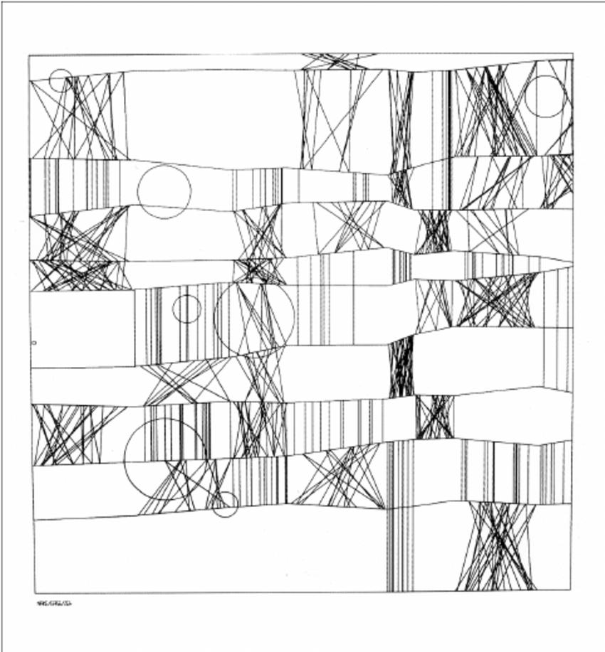 Frieder Nake's Digital Artwork | Source: researchgate.net