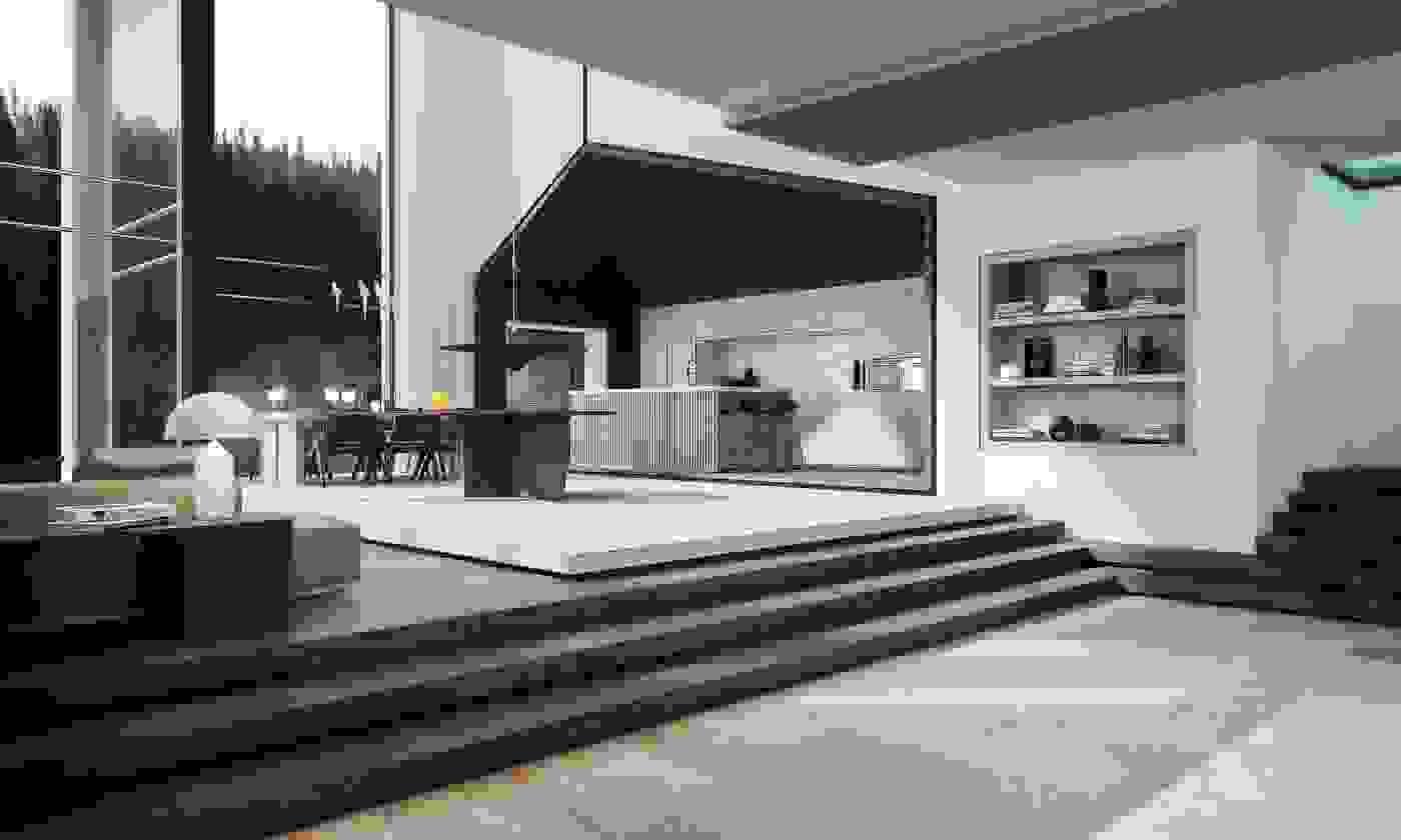 Minimalist interior | Source: ulaburgiel.com