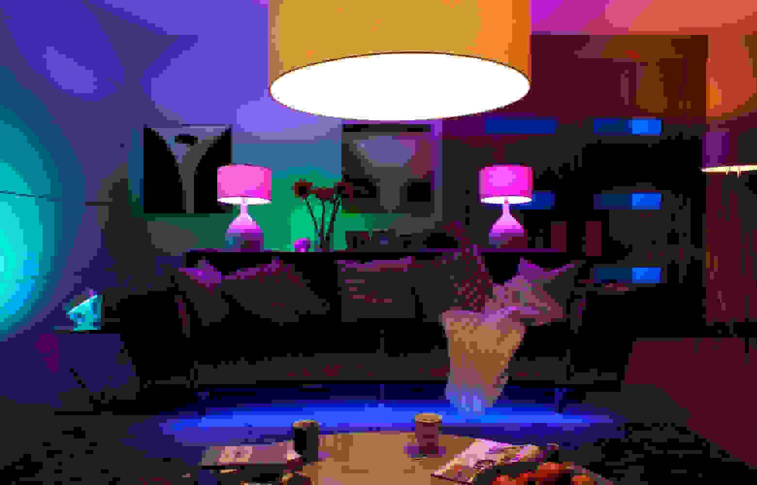 Coloured mood lighting | Source: litecraft.co.uk