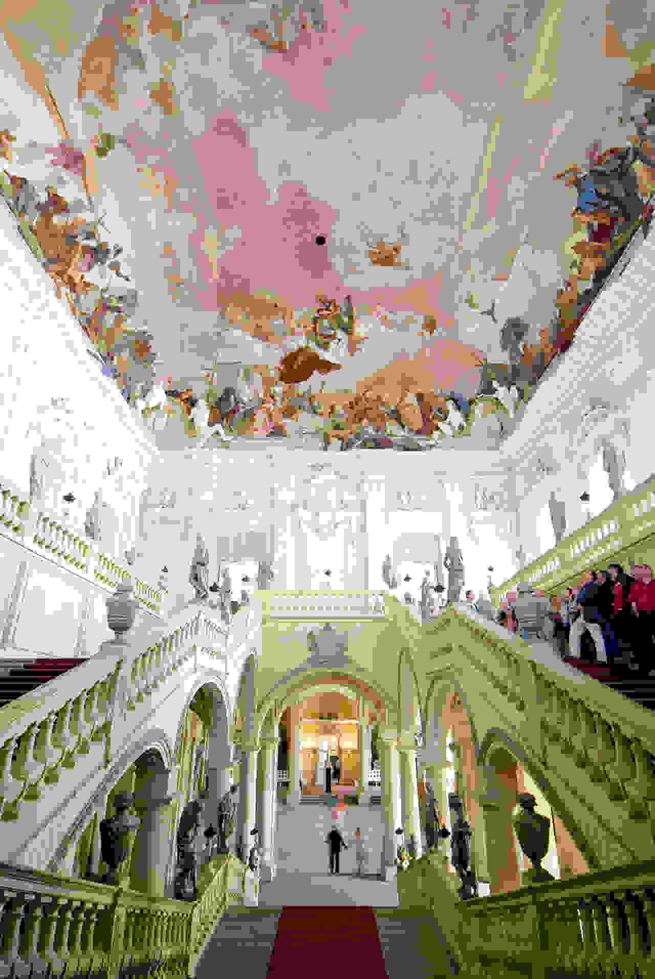 Staircase in Wüzburg Residence (1749-51) | Source: germany.travel