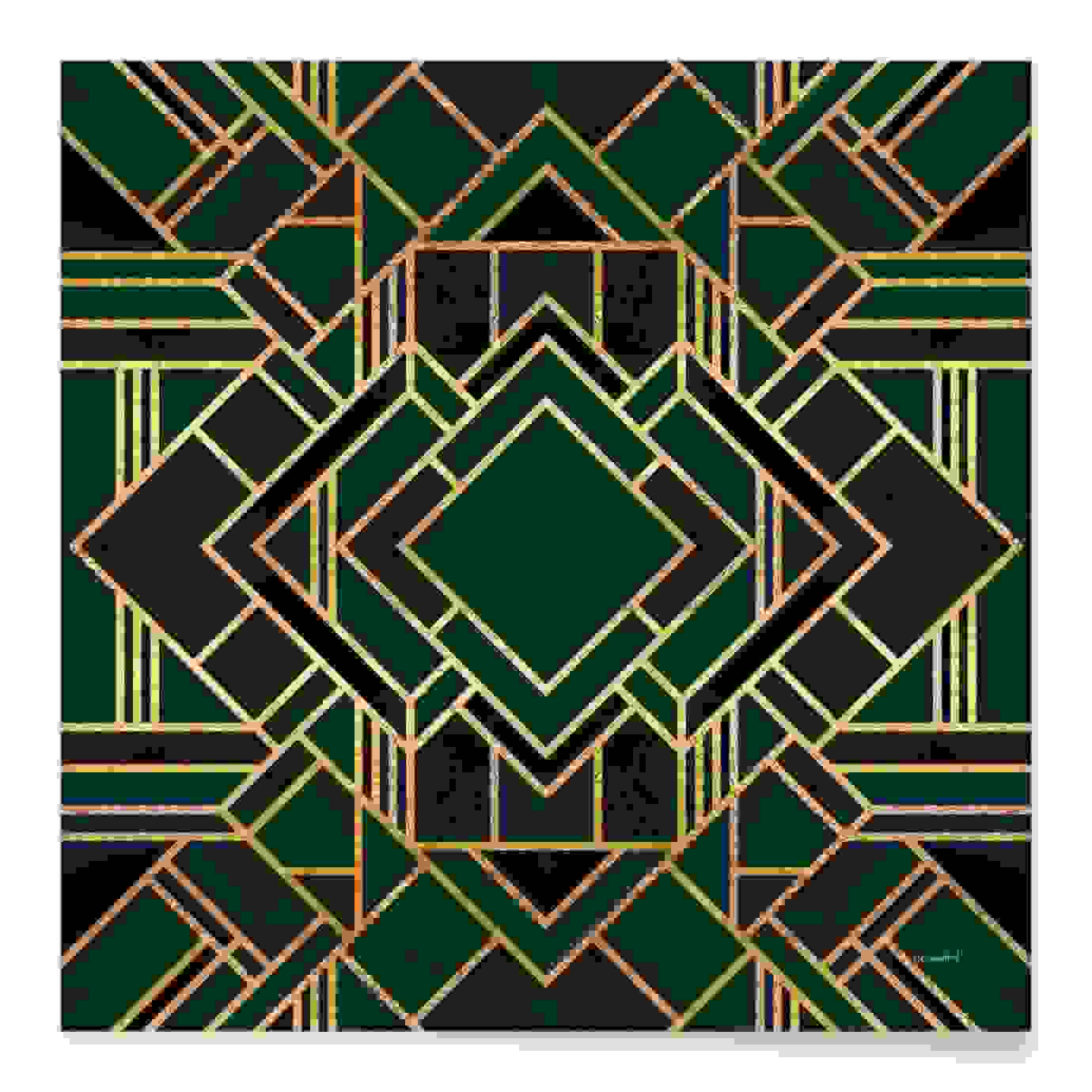 Art Deco pattern   Image source: wayfair.com