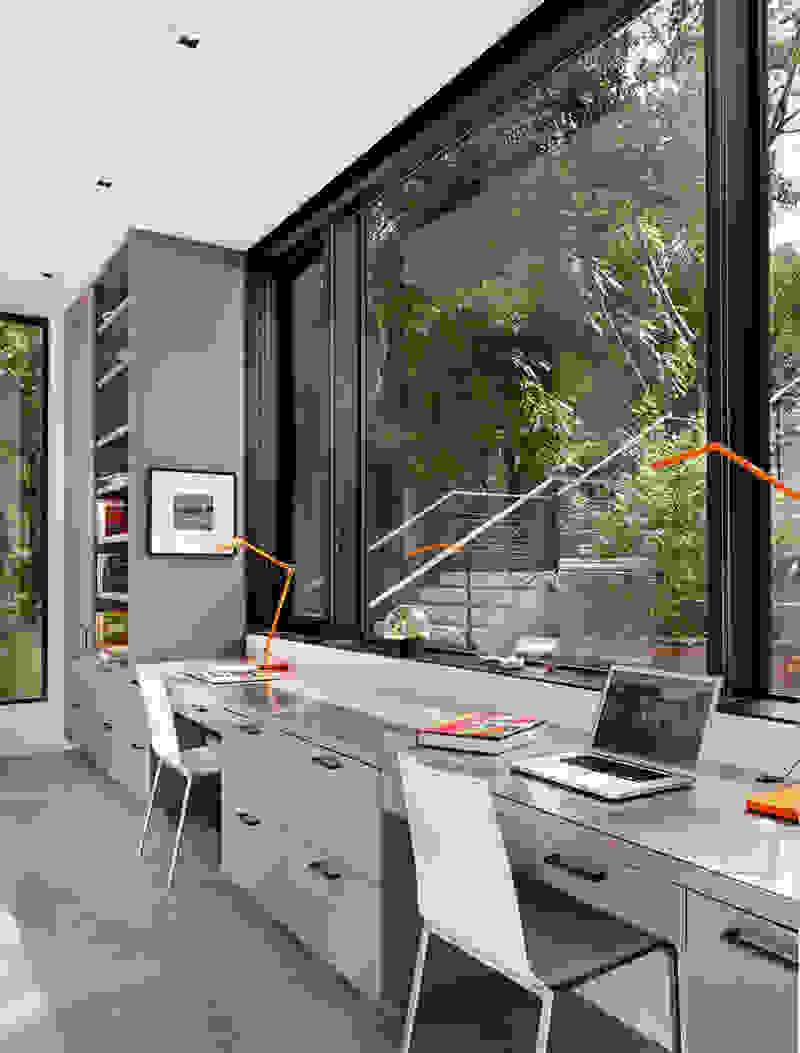 Shared home office | Source: contemporist.com