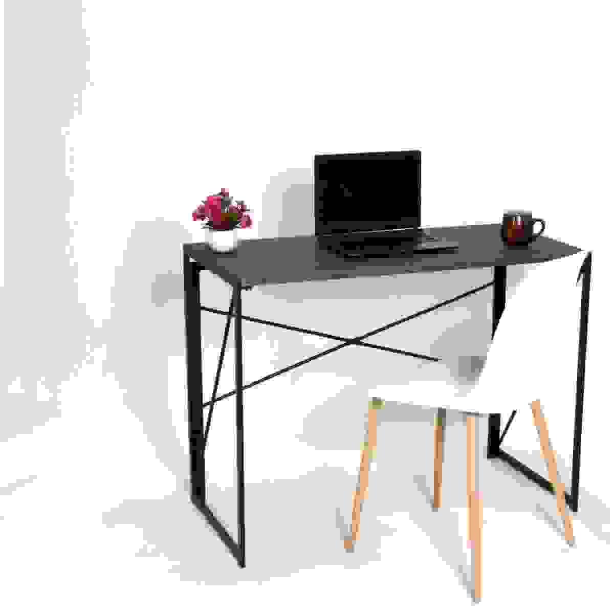 Coavas Happer Industrial Folding Desk | Source: coavas.com