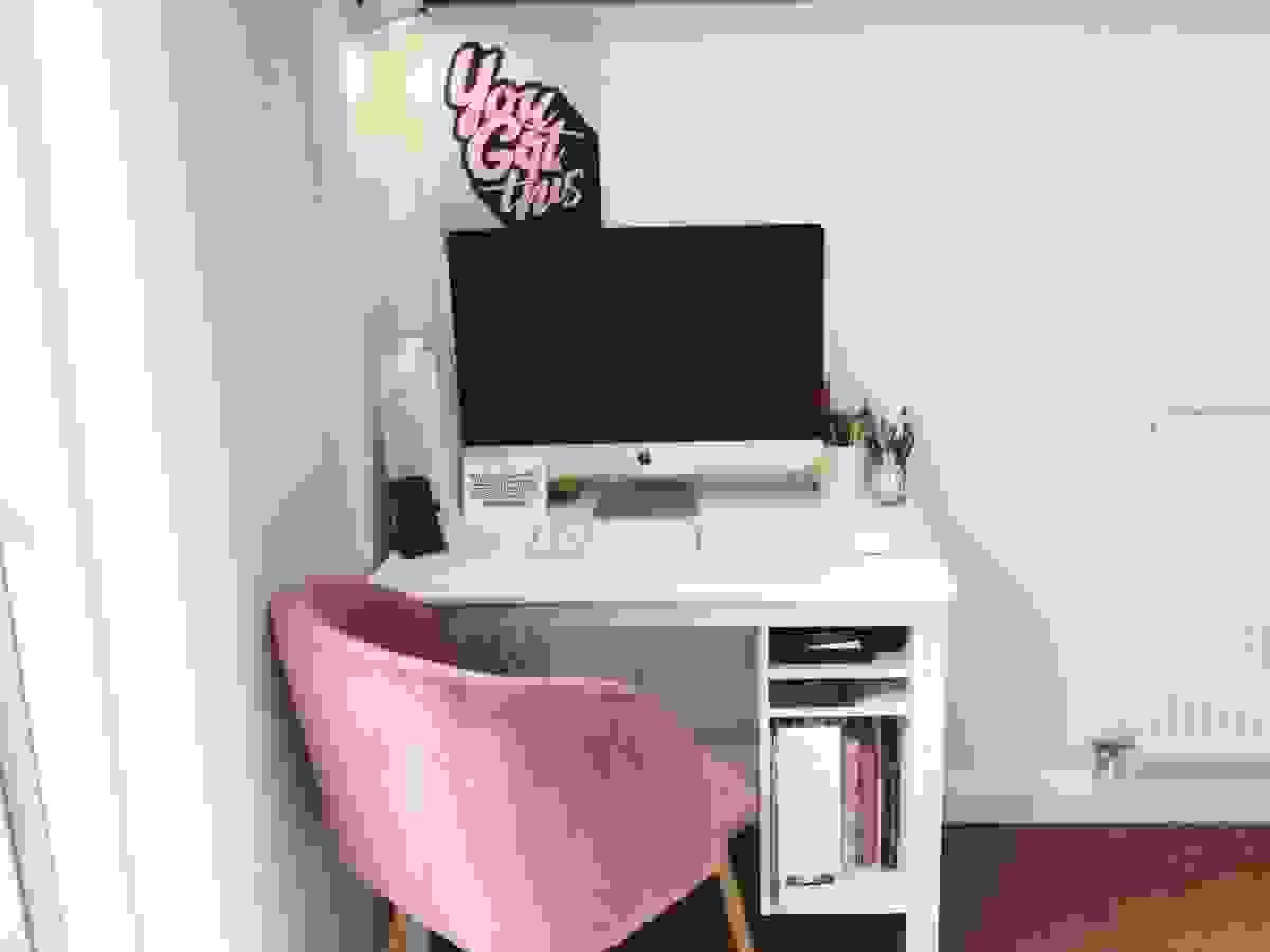 Bedroom office corner | Source: morethantoast.org