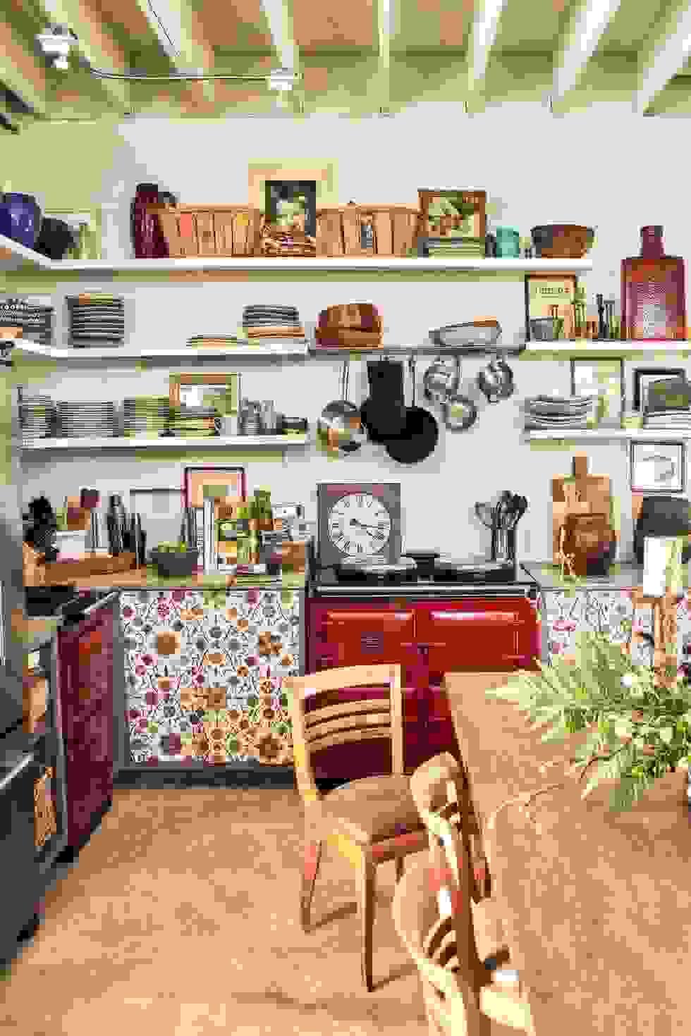 Bohemian kitchen | Source: housebeautiful.com