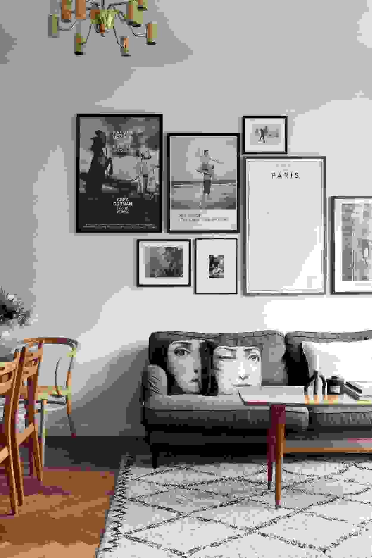 Minimalist living room | Source: housebeautiful.com