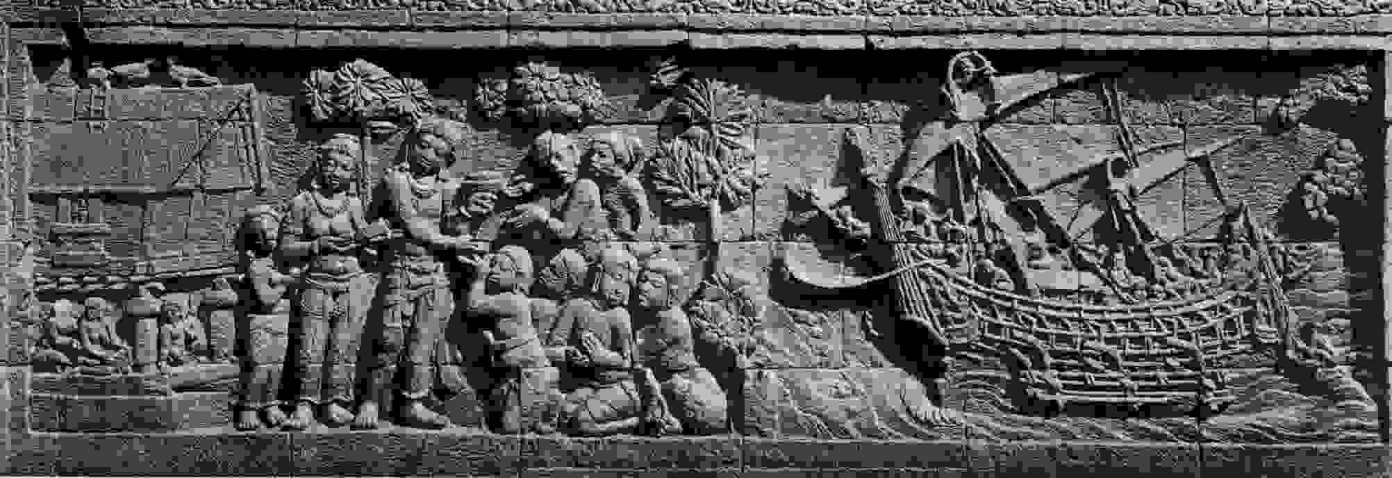 Relief panel of a ship | Source: Source: kemdikbud.go.id
