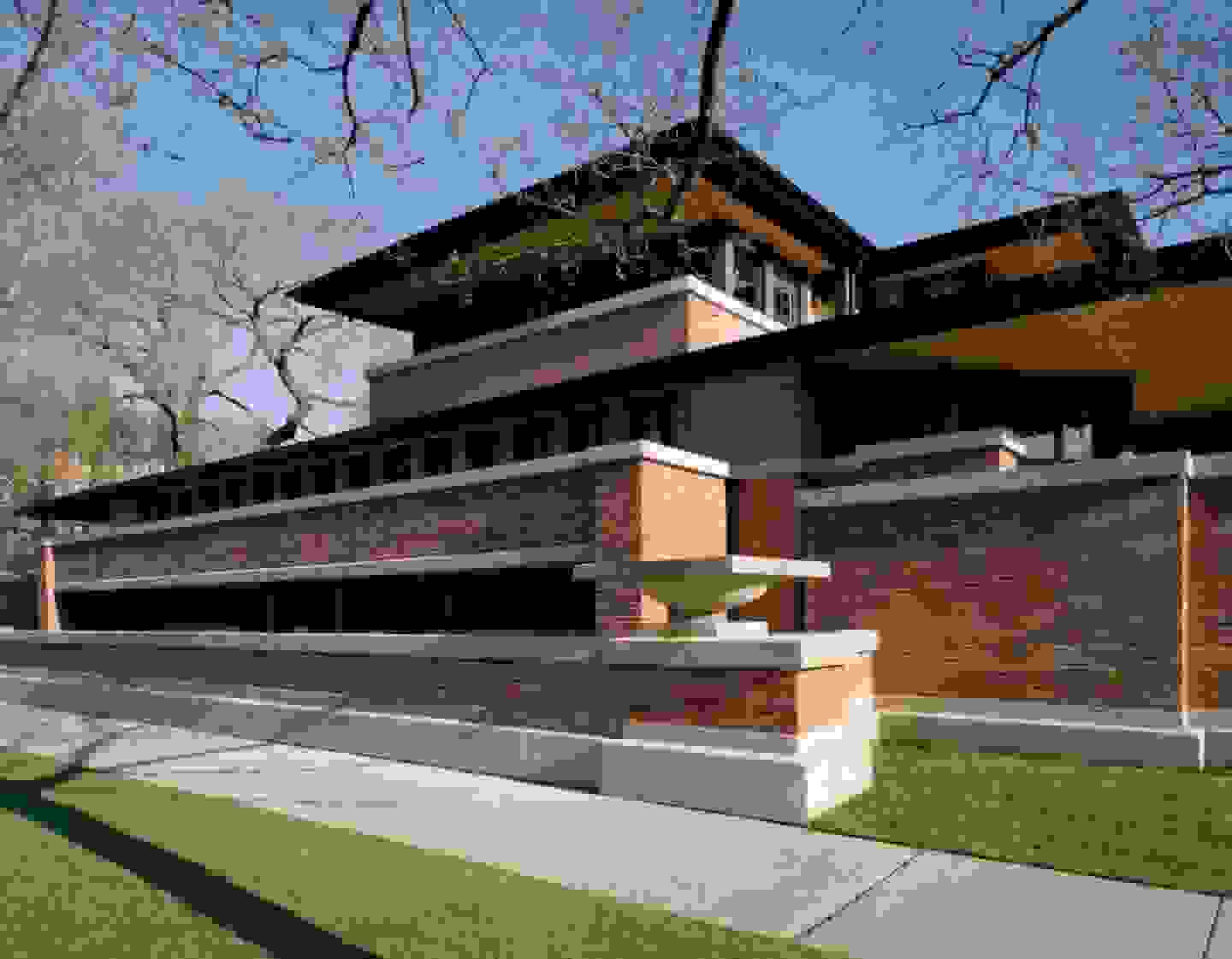 Frank Lloyd Wright's Robie House in Chicago | Source: franklloydwright.org